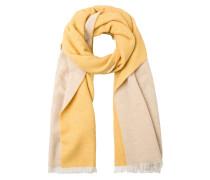 Schal beige / gelb