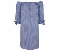 Strandkleid blau / weiß