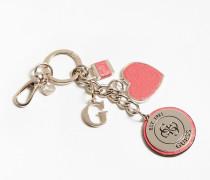 Schlüsselanhäger gold / rosé