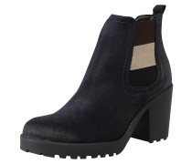 Leder-Boot 'essential' nachtblau