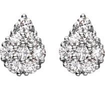 Ohrstecker 'Diamonds' silber