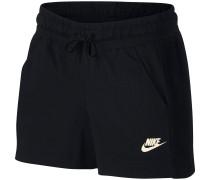 Shorts 'nsw' schwarz / weiß
