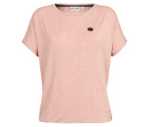 Shirt 'Die Gedudelte' pink