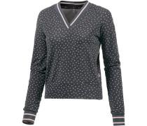 Sweatshirt dunkelgrau / rosa