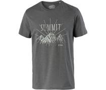 'Keystone' T-Shirt basaltgrau