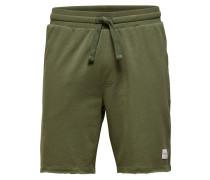 Sweat Shorts oliv