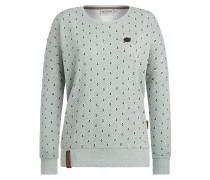 Sweater 'Jane Forensik' blau / mint