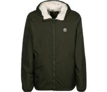 Winterjacke 'Elkins Alder Sherpa' khaki