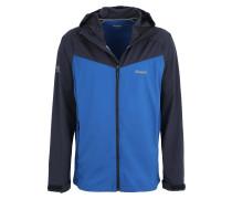 Jacket 'Microlight' blau / dunkelblau