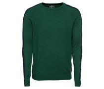 Pullover 'mst Aspen round' dunkelgrün