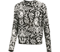 Pullover beige / schwarz