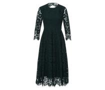 Kleid 'Flared Lace Dress' dunkelgrün