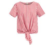 Bluse 'lielupe' rot / weiß