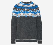 Pullover blau / grau