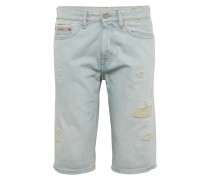 Jeans Shorts 'slim - Berlin Blue Dstr Rgd'