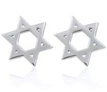 Ohrstecker 'Sterne' silber