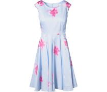 Kleid hellblau / pink