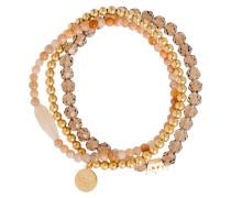 Armband gold / orange / rosé