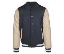 Jacket beige / schwarz / weiß