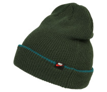 Mütze 'beanie' dunkelgrün
