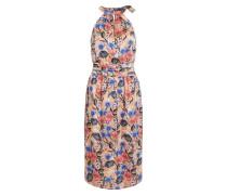 Kleid mischfarben / pfirsich