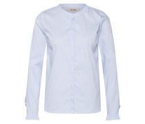 Bluse 'Mattie' hellblau / weiß