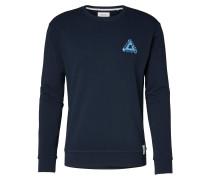 Sweatshirt navy / hellblau
