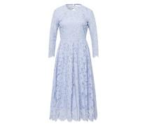 Kleid 'Flared Lace Dress' hellblau