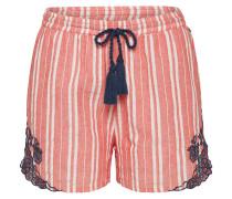 Shorts 'flo' navy / rot / weiß