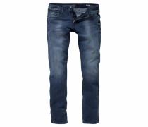 Slim-fit-Jeans 'Anbass' blau
