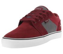 Sneaker 'Barge LS' grau / kirschrot