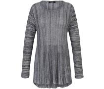 Pullover dunkelgrau / weiß