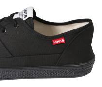 Canvas-Sneaker 'Malibu' schwarz