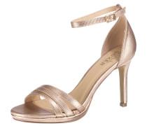 Klassische Sandaletten gold