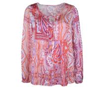 Bluse mit Paisley Muster mischfarben