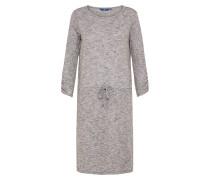 Kleid in Midilänge grau