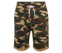 Shorts 'Gibby Camo' khaki