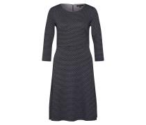 Kleid graumeliert / schwarz