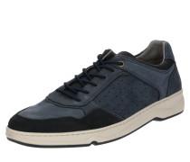 Sneaker creme / dunkelgrau