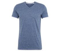 T-Shirt 'N vn 2in1 snow' himmelblau / weiß
