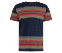 Shirt navy / gelb / orange