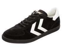 'Victory' Leather Sneaker schwarz