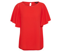 Bluse feuerrot