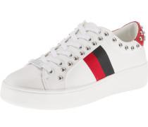 Sneaker 'belle' rot / schwarz / weiß