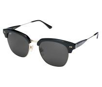 Sonnenbrille 'Havana' gold / schwarz