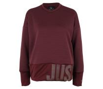 Sportlicher Sweater 'Dry' burgunder