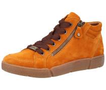 Sneaker braun / goldgelb