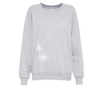 Sweatshirt 'Pusteblume' hellgrau