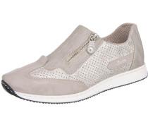 Sneaker greige / weiß