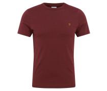 T-Shirt 'dennis' weinrot